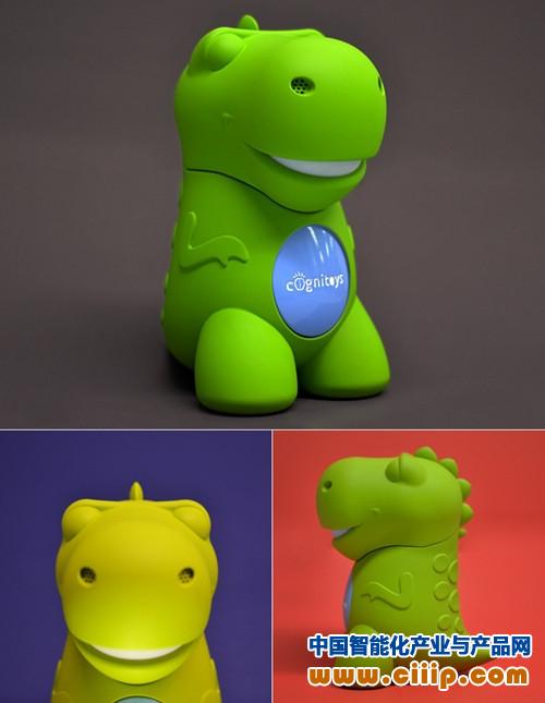 3d打印智能玩具:会讲故事的小恐龙